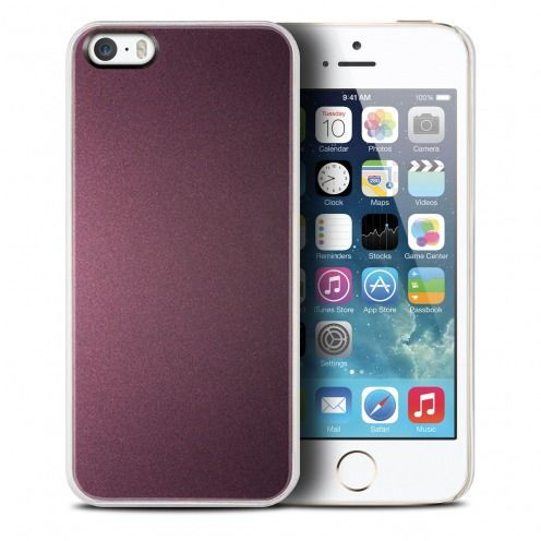 Vue Principale de Coque QDOS® Smoothies Racing Violet pour iPhone 5/5S