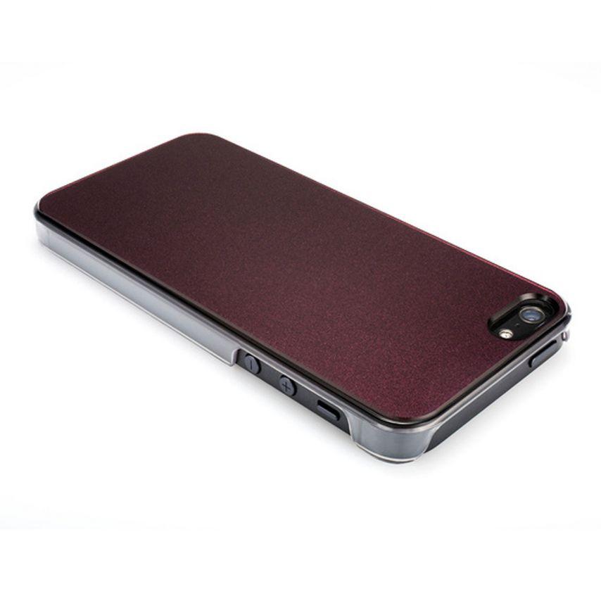 Vue détaillée de Coque QDOS® Smoothies Racing Violet pour iPhone 5/5S