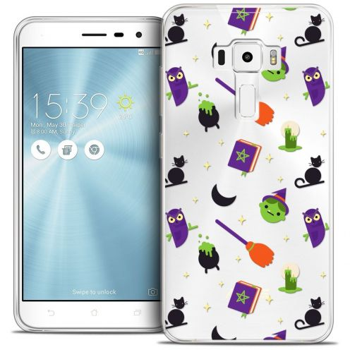 "Coque Crystal Gel Asus Zenfone 3 ZE552KL (5.5"") Extra Fine Halloween - Witch Potter"