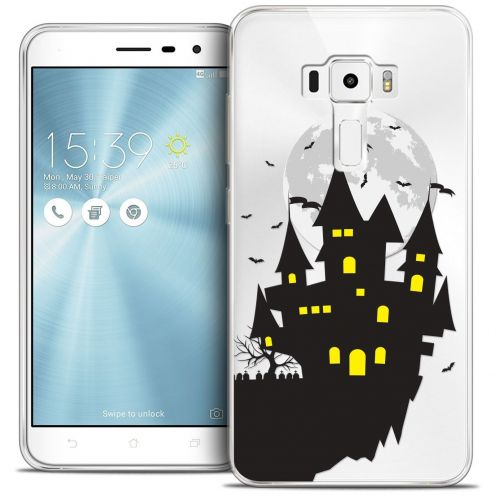 "Coque Crystal Gel Asus Zenfone 3 ZE552KL (5.5"") Extra Fine Halloween - Castle Dream"