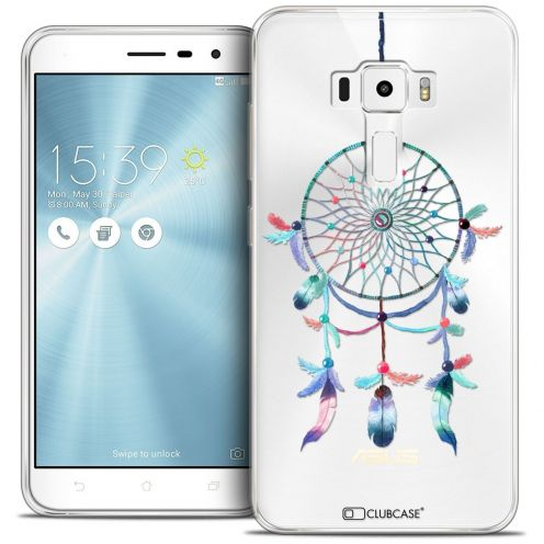 "Coque Crystal Gel Asus Zenfone 3 ZE552KL (5.5"") Extra Fine Dreamy - Attrape Rêves Rainbow"