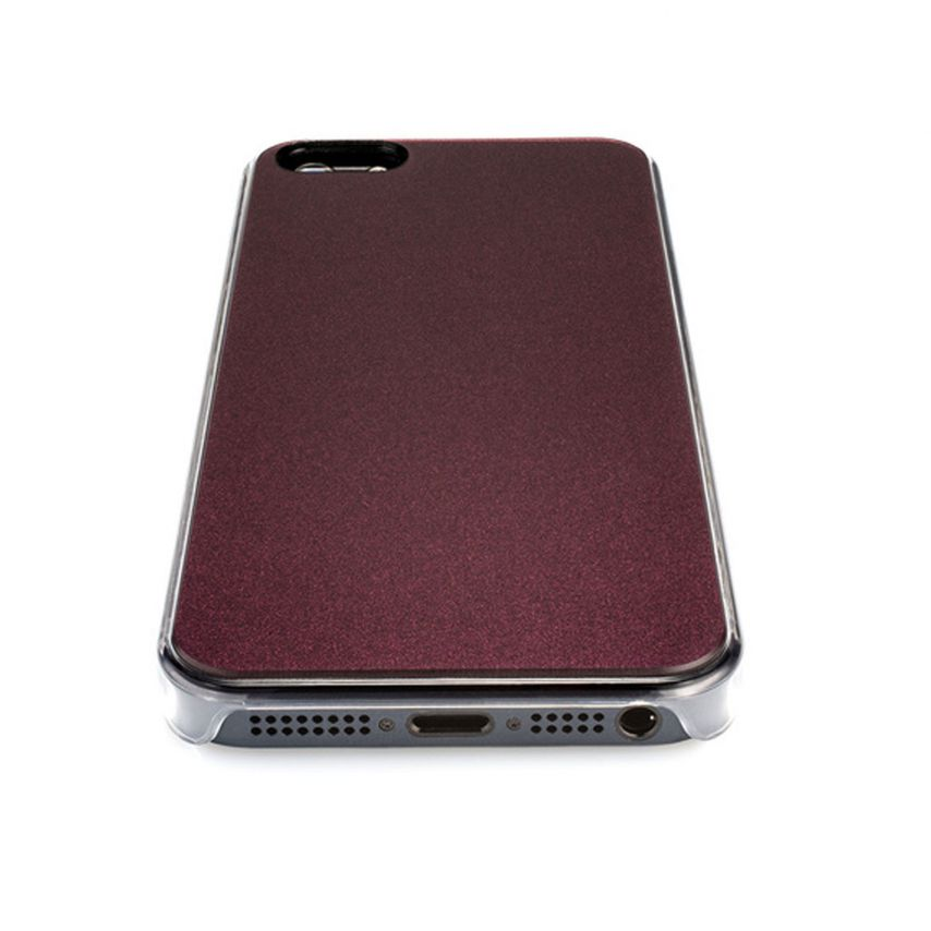 Visuel unique de Coque QDOS® Smoothies Racing Violet pour iPhone 5/5S