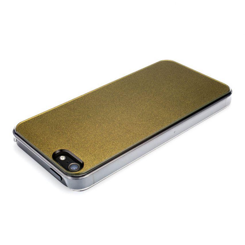 Zoom sur Coque QDOS® Smoothies Racing Khaki pour iPhone 5/5S