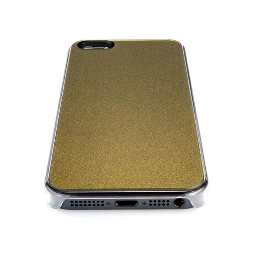 Visuel unique de Coque QDOS® Smoothies Racing Khaki pour iPhone 5/5S