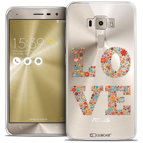 "Coque Crystal Gel Asus Zenfone 3 ZE552KL (5.5"") Extra Fine Summer - Love Flowers"