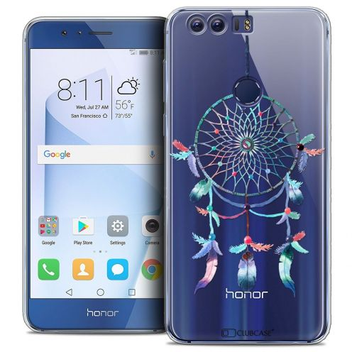 "Coque Crystal Gel Huawei Honor 8 (5.2"") Extra Fine Dreamy - Attrape Rêves Rainbow"