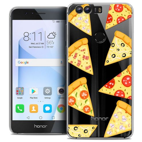 """Coque Crystal Gel Huawei Honor 8 (5.2"""") Extra Fine Foodie - Pizza"""