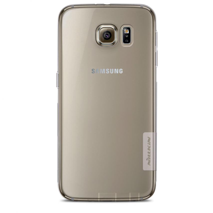 """Vue détaillée de Coque TPU 0.6mm """"Nature"""" Nillkin® pour Galaxy S6"""