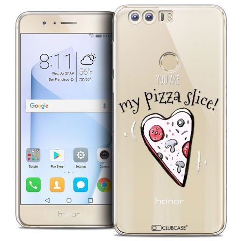 """Coque Crystal Gel Huawei Honor 8 (5.2"""") Extra Fine Love - My Pizza Slice"""