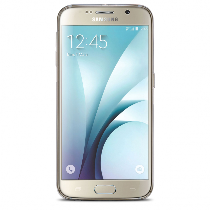 """Zoom sur Coque TPU 0.6mm """"Nature"""" Nillkin® pour Galaxy S6"""