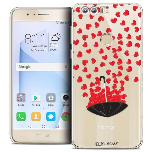 """Coque Crystal Gel Huawei Honor 8 (5.2"""") Extra Fine Love - Parapluie d'Amour"""