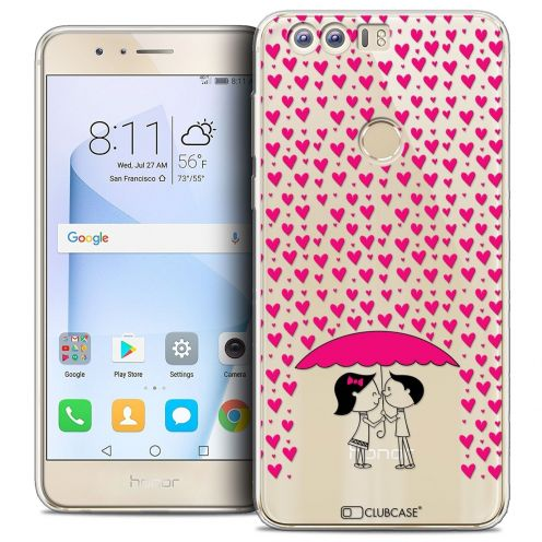 """Coque Crystal Gel Huawei Honor 8 (5.2"""") Extra Fine Love - Pluie d'Amour"""