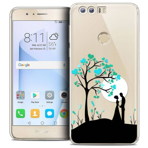 """Coque Crystal Gel Huawei Honor 8 (5.2"""") Extra Fine Love - Sous l'arbre"""