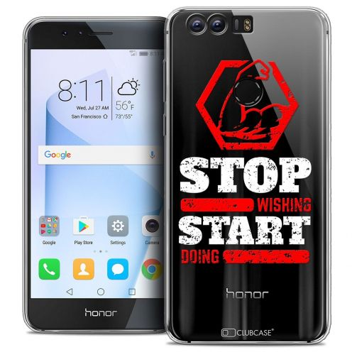 """Coque Crystal Gel Huawei Honor 8 (5.2"""") Extra Fine Quote - Start Doing"""