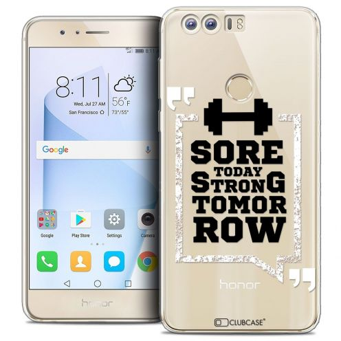 """Coque Crystal Gel Huawei Honor 8 (5.2"""") Extra Fine Quote - Strong Tomorrow"""