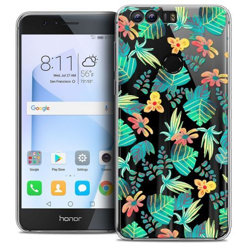 "Coque Crystal Gel Huawei Honor 8 (5.2"") Extra Fine Spring - Tropical"