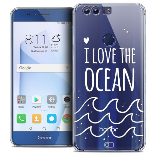"Coque Crystal Gel Huawei Honor 8 (5.2"") Extra Fine Summer - I Love Ocean"