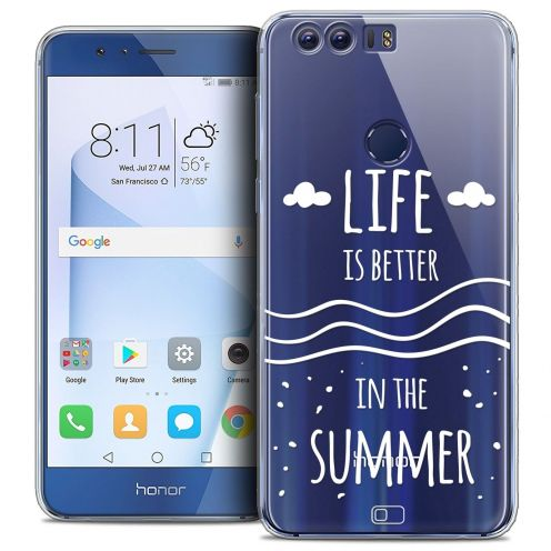 """Coque Crystal Gel Huawei Honor 8 (5.2"""") Extra Fine Summer - Life's Better"""
