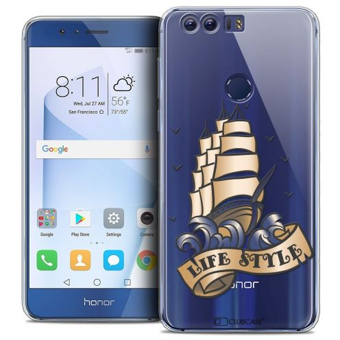 """Coque Crystal Gel Huawei Honor 8 (5.2"""") Extra Fine Tatoo Lover - Life Style"""