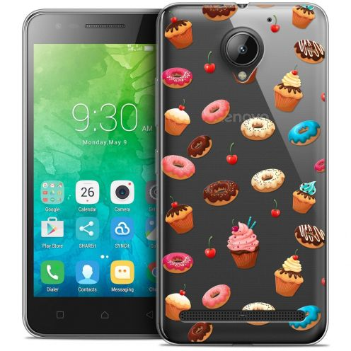 """Coque Crystal Gel Lenovo C2 K10A40 (5"""") Extra Fine Foodie - Donuts"""