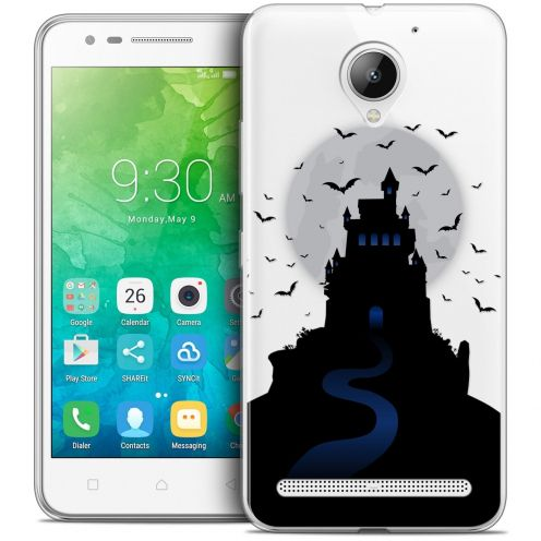 "Coque Crystal Gel Lenovo C2 K10A40 (5"") Extra Fine Halloween - Castle Dream"