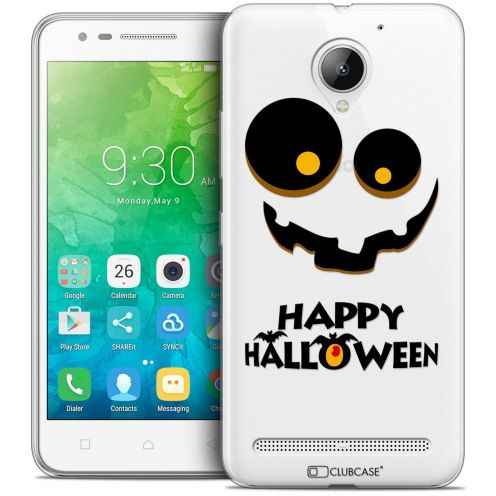 "Coque Crystal Gel Lenovo C2 K10A40 (5"") Extra Fine Halloween - Happy"