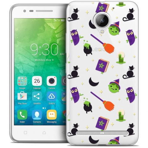 "Coque Crystal Gel Lenovo C2 K10A40 (5"") Extra Fine Halloween - Witch Potter"