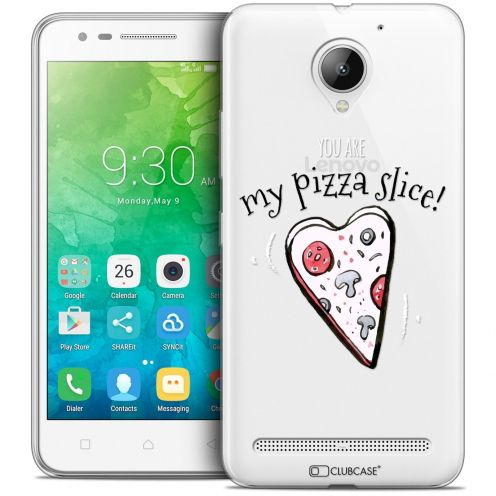 "Coque Crystal Gel Lenovo C2 K10A40 (5"") Extra Fine Love - My Pizza Slice"