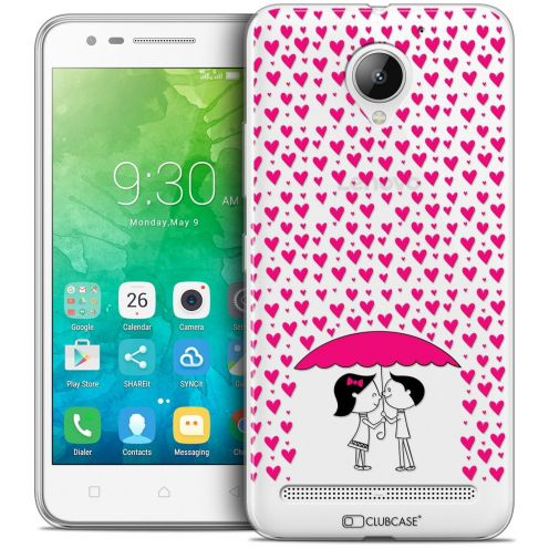"Coque Crystal Gel Lenovo C2 K10A40 (5"") Extra Fine Love - Pluie d'Amour"
