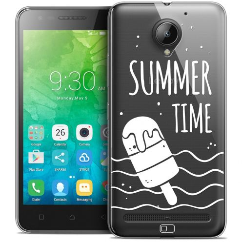 "Coque Crystal Gel Lenovo C2 K10A40 (5"") Extra Fine Summer - Summer Time"