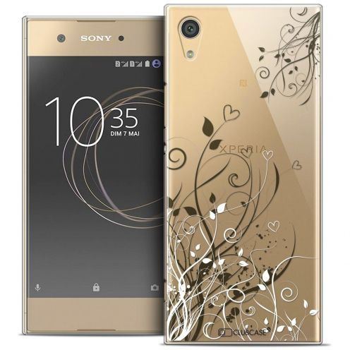 "Coque Crystal Rigide Sony Xperia XA1 (5"") Extra Fine Love - Hearts Flowers"