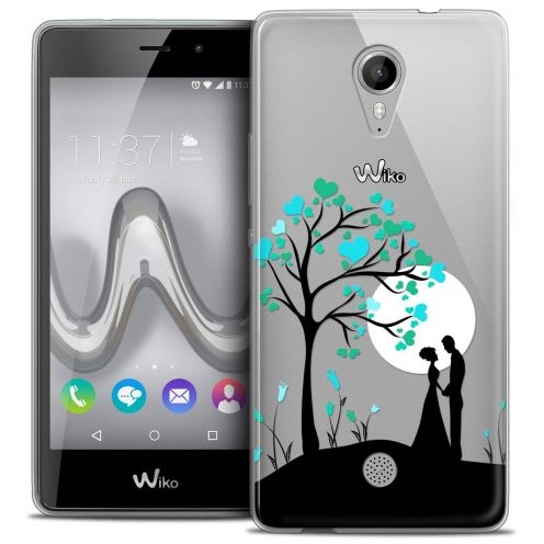 "Coque Crystal Gel Wiko Tommy (5"") Extra Fine Love - Sous l'arbre"