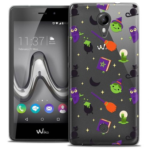 "Coque Crystal Gel Wiko Tommy (5"") Extra Fine Halloween - Witch Potter"