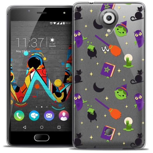 """Coque Crystal Gel Wiko U Feel (5"""") Extra Fine Halloween - Witch Potter"""