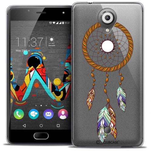"Coque Crystal Gel Wiko U Feel (5"") Extra Fine Dreamy - Attrape Rêves Shine"