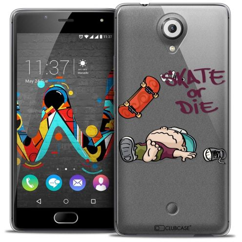 "Coque Crystal Gel Wiko U Feel (5"") Extra Fine BD 2K16 - Skate Or Die"