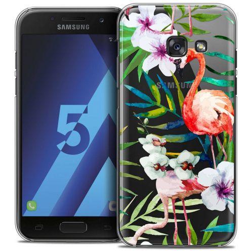 Coque Crystal Samsung Galaxy A5 2017 (A520) Extra Fine Watercolor - Tropical Flamingo