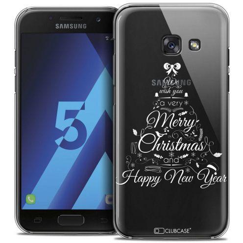 Coque Crystal Samsung Galaxy A5 2017 (A520) Extra Fine Noël 2016 - Calligraphie