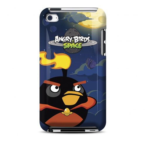 Coque Angry Birds Gear4® Fire Bomb Bird Space iPod Touch 4