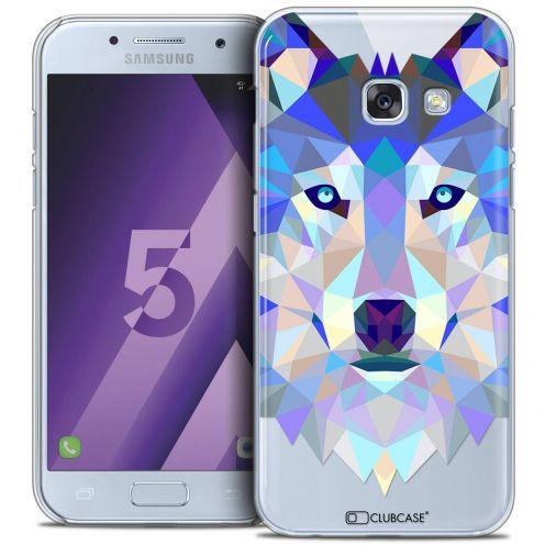Coque Crystal Samsung Galaxy A5 2017 (A520) Extra Fine Polygon Animals - Loup