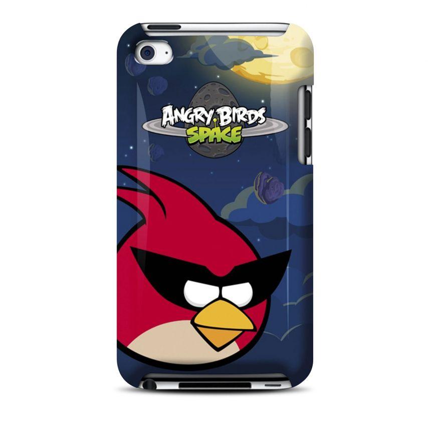 Vue Principale de Coque Angry Birds Gear4® Red Bird Space iPod Touch 4
