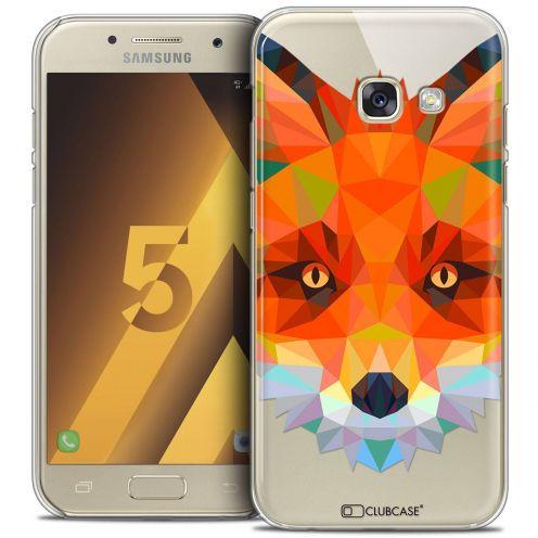 Coque Crystal Samsung Galaxy A5 2017 (A520) Extra Fine Polygon Animals - Renard