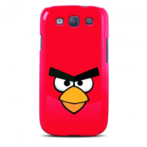 Vue Principale de Coque Angry Birds Gear4® Red Bird Rouge Galaxy S3