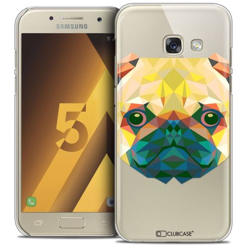 Coque Crystal Samsung Galaxy A5 2017 (A520) Extra Fine Polygon Animals - Chien