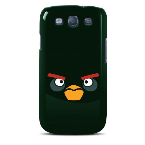 Vue Principale de Coque Angry Birds Gear4® Black Bird Noir Galaxy S3