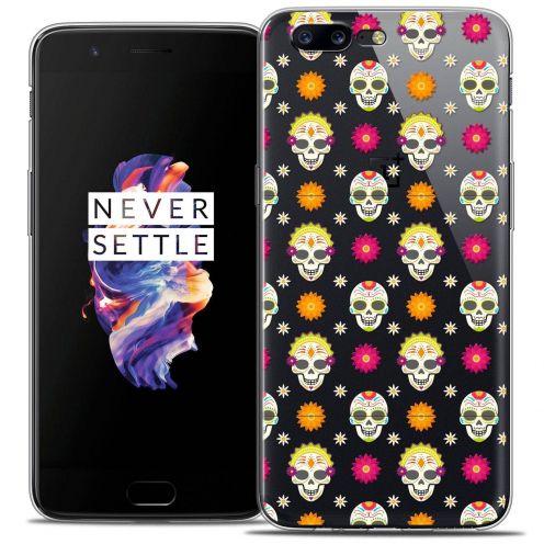 """Coque Crystal Gel OnePlus 5 (5.5"""") Extra Fine Halloween - Skull Halloween"""