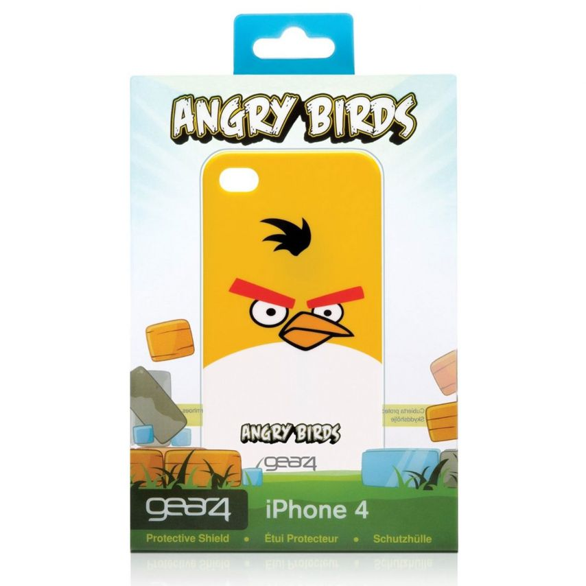 Visuel unique de Coque Angry Birds Gear4® Yellow Bird iPhone 4
