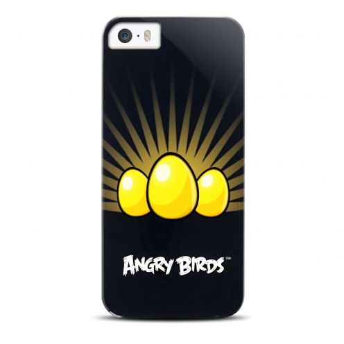 Vue Principale de Coque Angry Birds Yellow Eggs Gear4® pour iPhone 5/5S