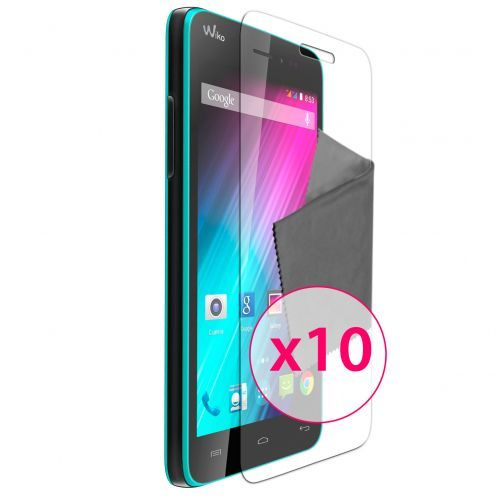 Vue Principale de Films de protection Wiko Lenny Clubcase ® Clear HD Lot de 10