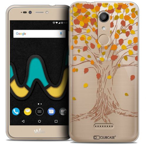 "Coque Crystal Gel Wiko U Pulse (5.5"") Extra Fine Autumn 16 - Tree"